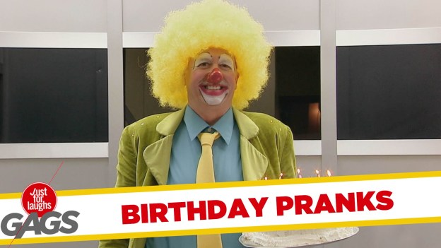 Best of Birthday Pranks – Just for Laughs Gags
