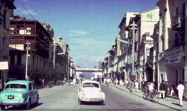 Kathmandu New Road in the 1960s