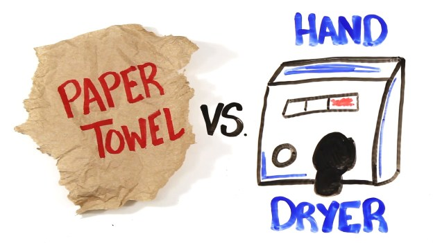 Paper Towel vs Hand Dryers