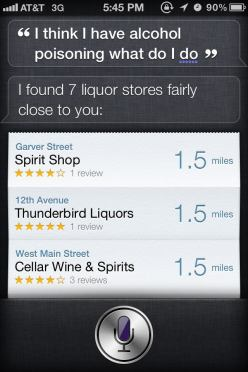 Thank you Siri (Fail)