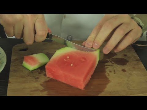 How to eat watermelon