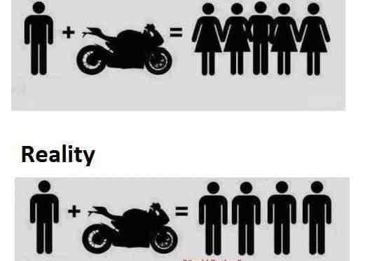 Motorcycle: Expectations vs Reality