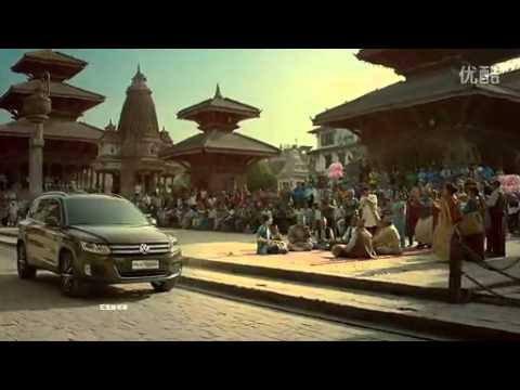 Volkswagen Tiguan's chinese TVC shot in Nepal