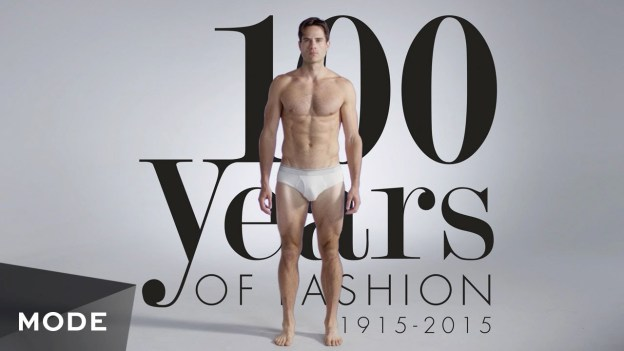 100 Years of Men's Fashion in 3 Minutes