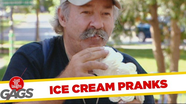 Best Ice Cream Pranks by Just for Laughs Gags