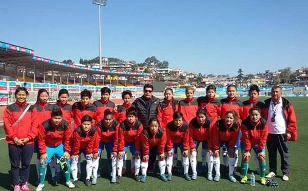 Nepal To Play Against India In The Finals of 12th SAG Women's Football