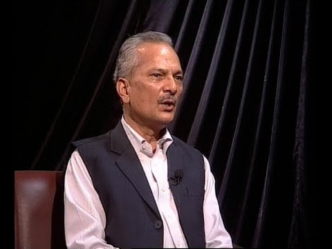 Baburam Bhattarai in Real Face With Prem Baniya