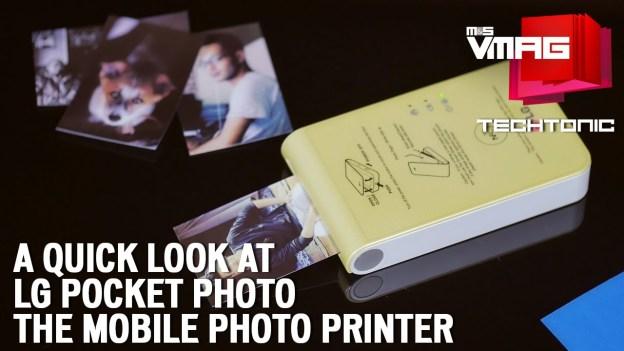 Gadget Review: LG Pocket Photo Printer