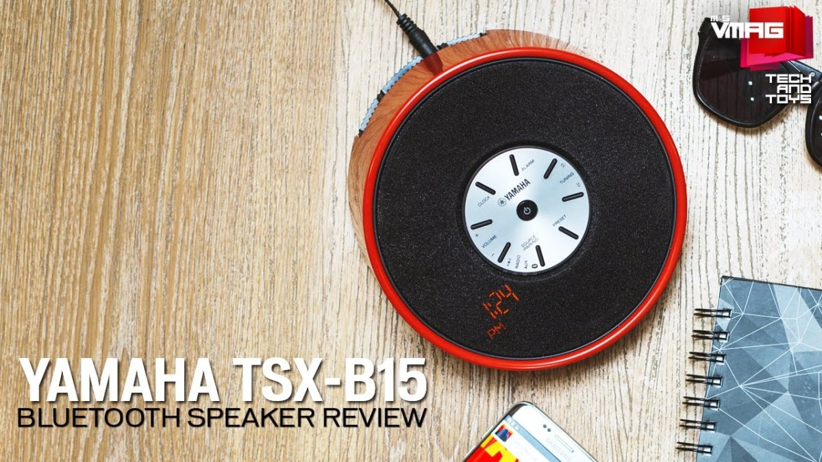 TECH & TOYS: Yamaha TSX-B15 Bluetooth Speaker Review