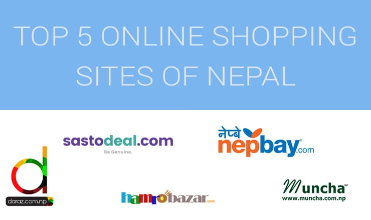 Top 5 Online Shopping Sites in Nepal - NepaliTelecom
