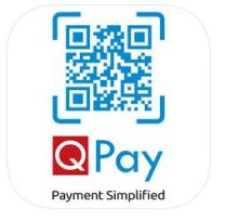 QPay Image with scanner code