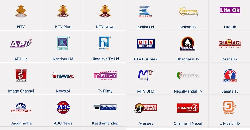 How to watch Nepali TV channels online by website/apps from