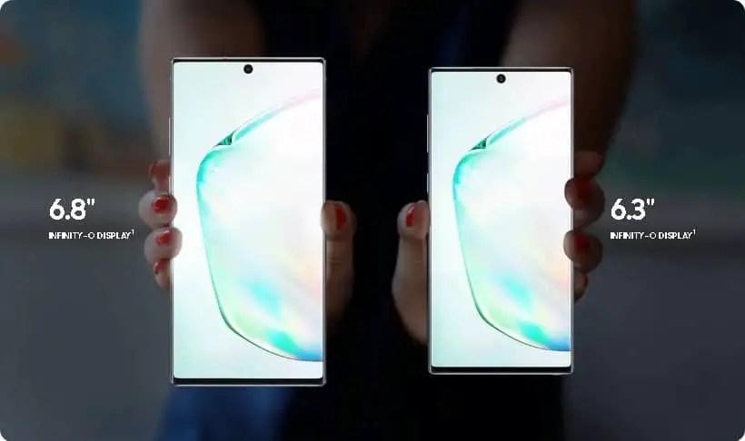 Samsung Note 10 Note 10 plus