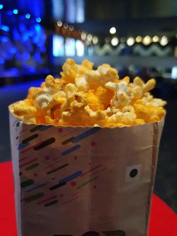 Samsung S10 live focus mode popcorn