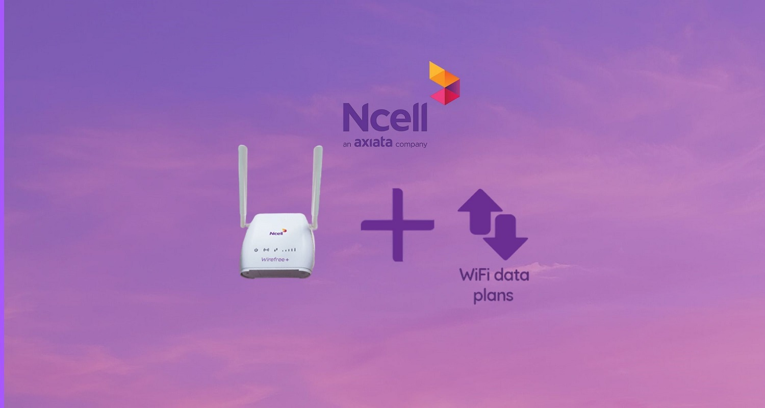 Ncell Wirefree plus internet service