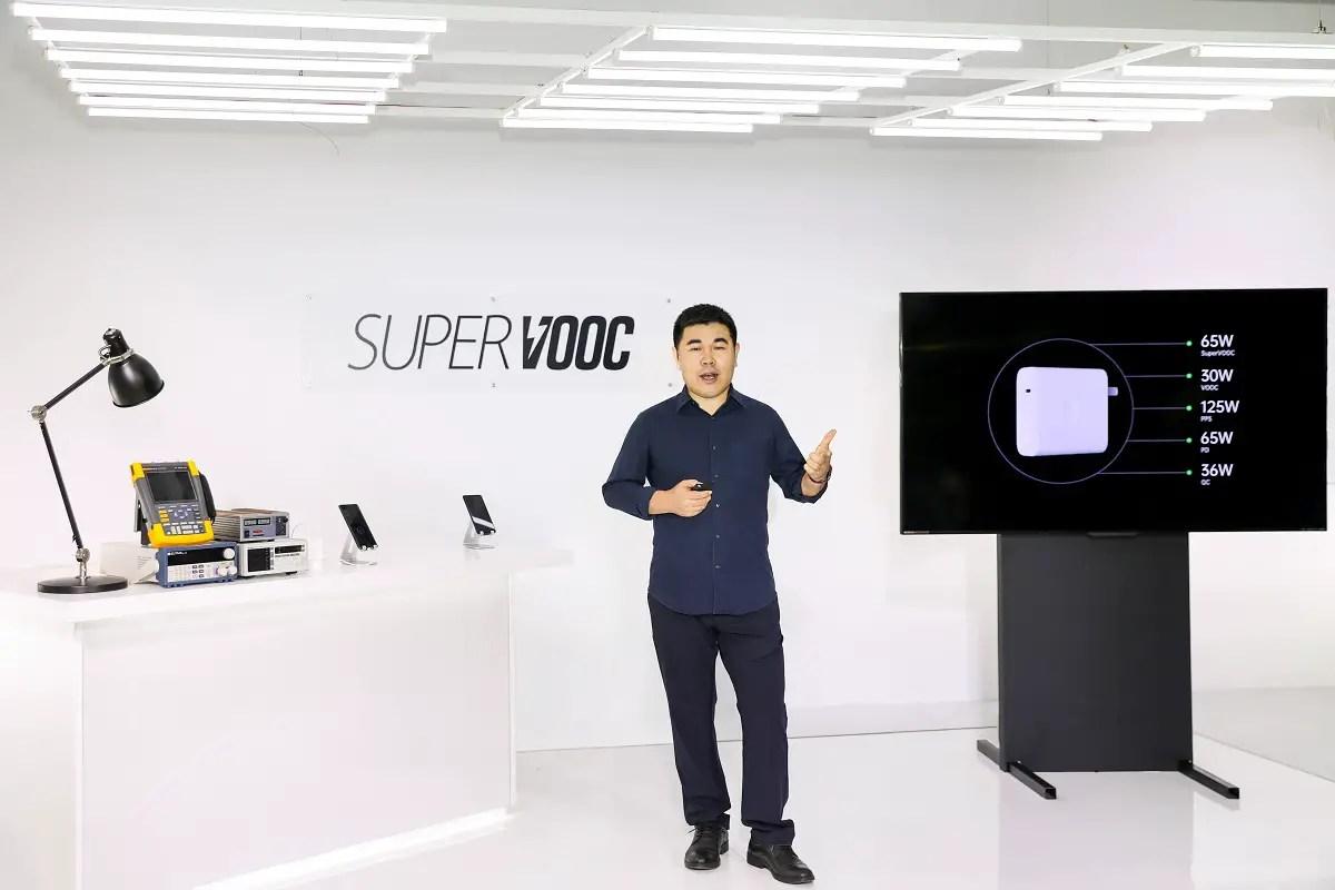 Oppo Super VOOC charging launch