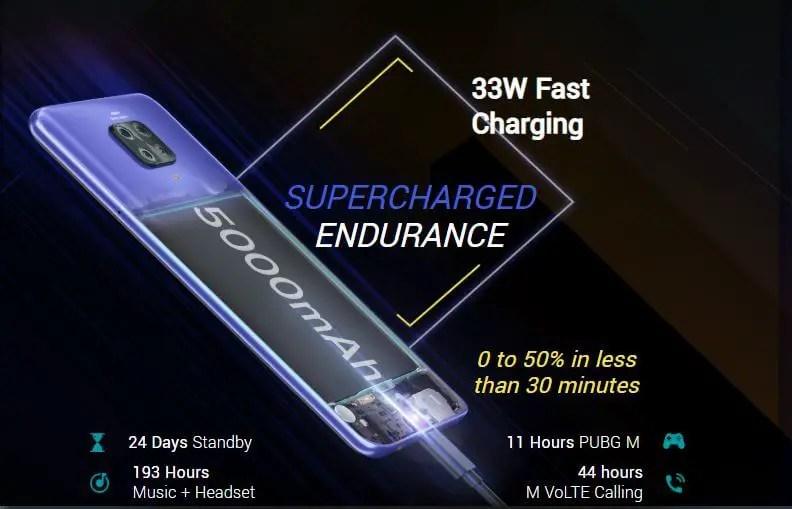 Poco M2 Pro Battery