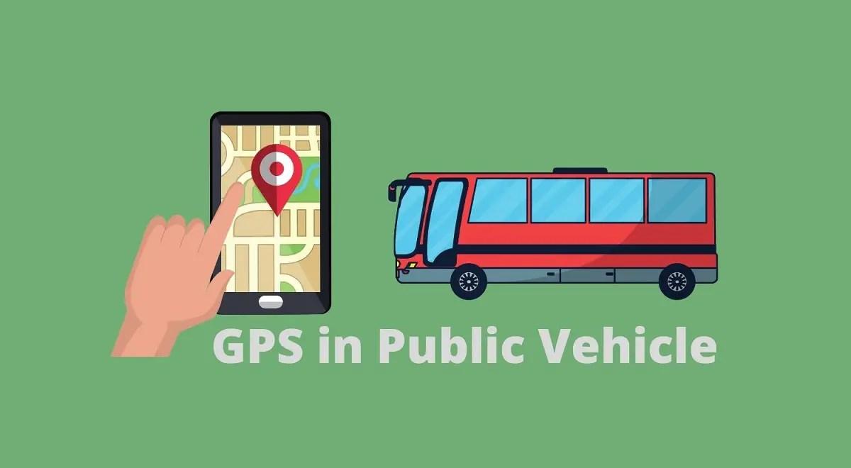 GPS in public vehicle