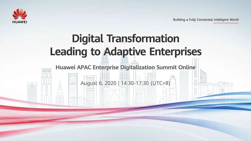 Huawei APAC Enterprise Digitalization Summit