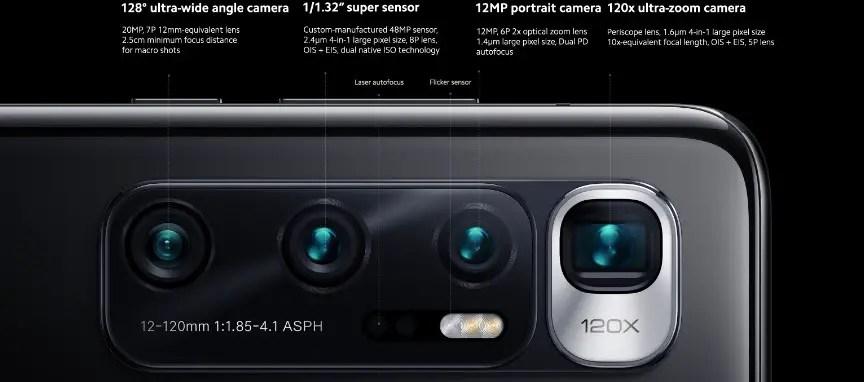 xiaomi mi 10 ultra camera