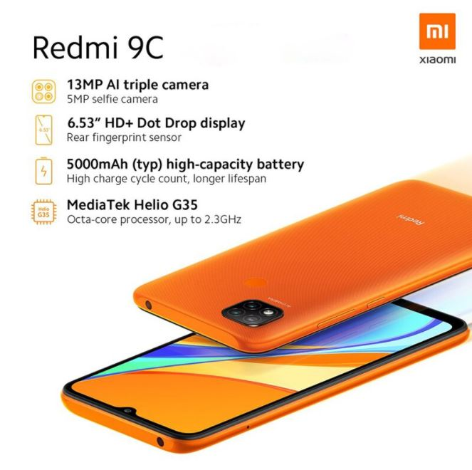 Redmi 9C Overview