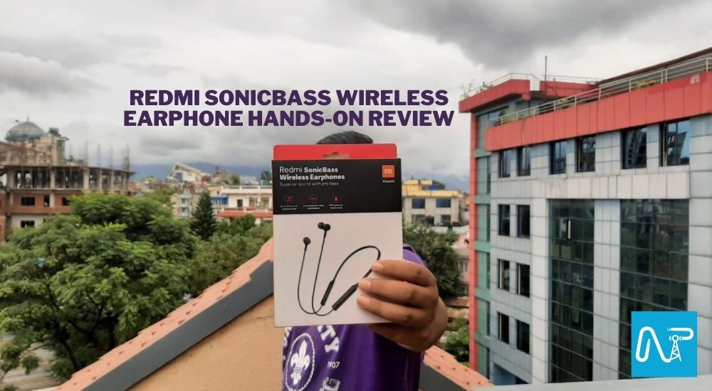 Redmi SonicBass wireless earphone price in nepal hands-on review