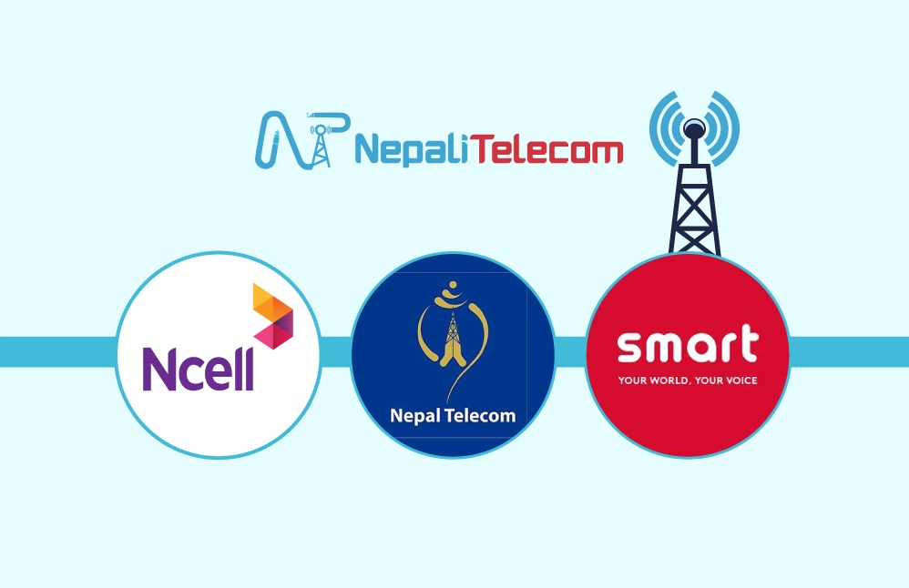 Telcos in Nepal Ntc Ncell Smart Cell