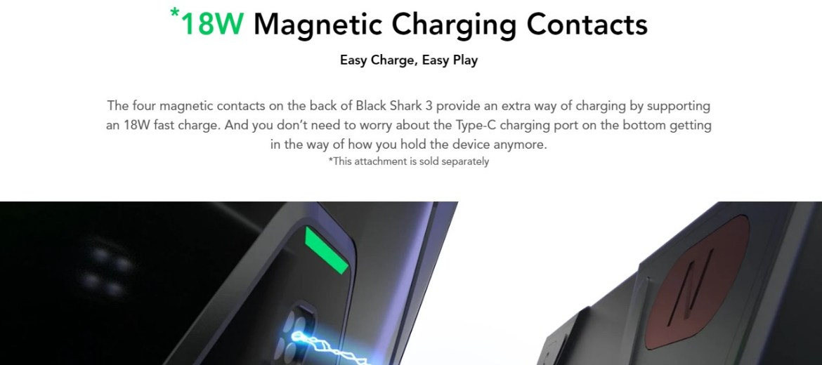 Black-Shark-3-18W-magnetic-charging-conatcts