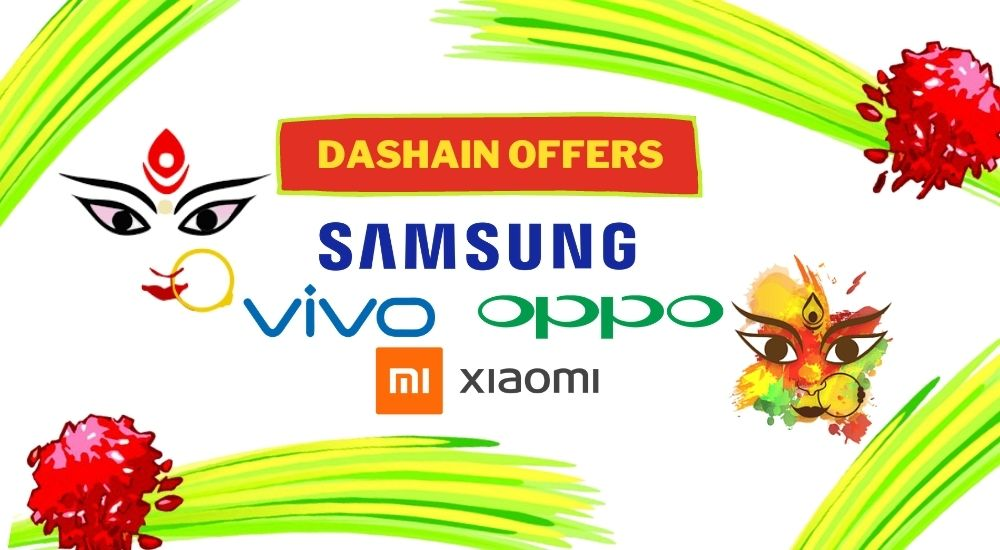 Dashain Offers On Buying Phones From Xiaomi, Samsung, Oppo, And Vivo