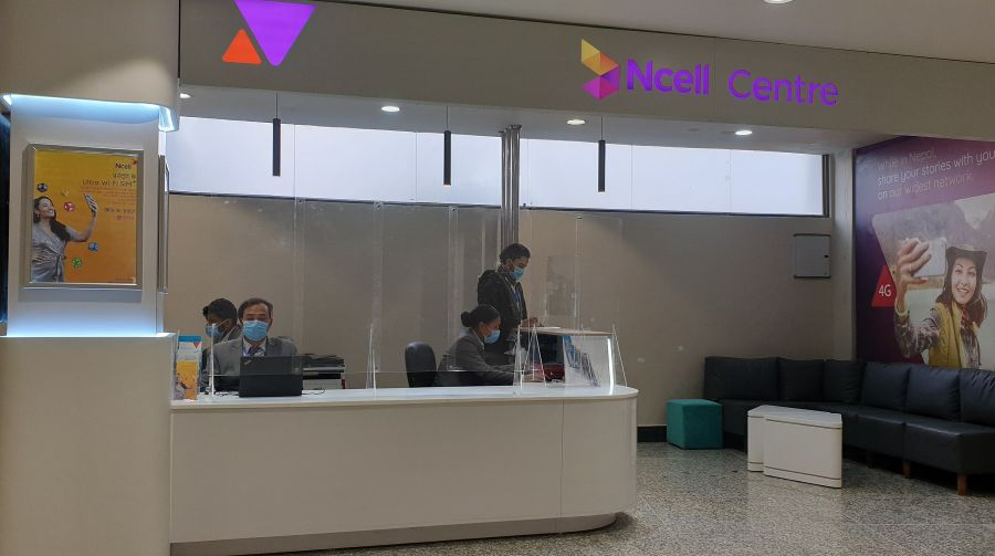 Ncell-Center-at-Tribhuvan-International-Airport