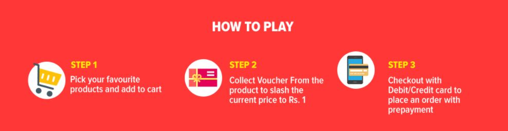 How to play 1 rupee game