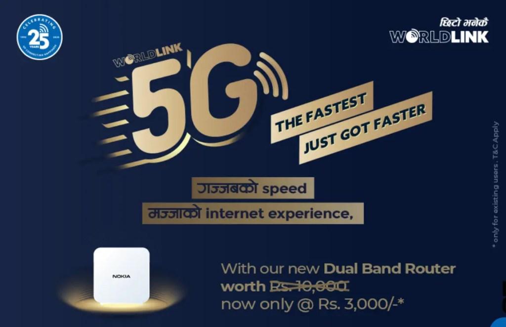 Worldlink 5G Wifi Internet