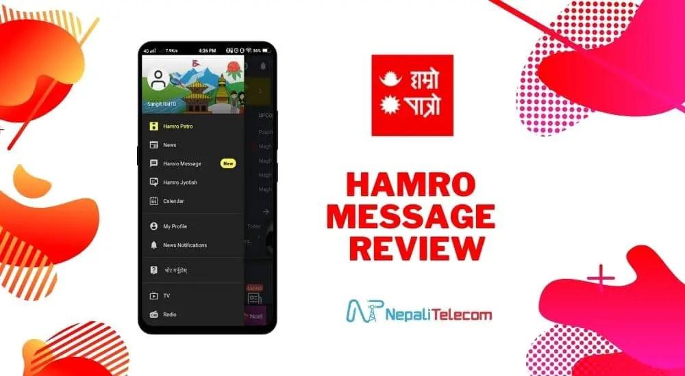 hamro message hamro patro app