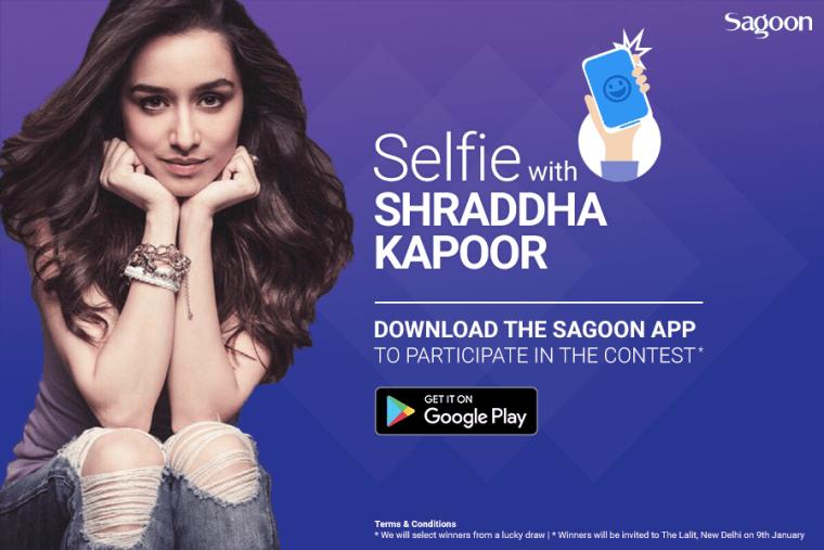 Shraddha Kappor in Sagoon App launch