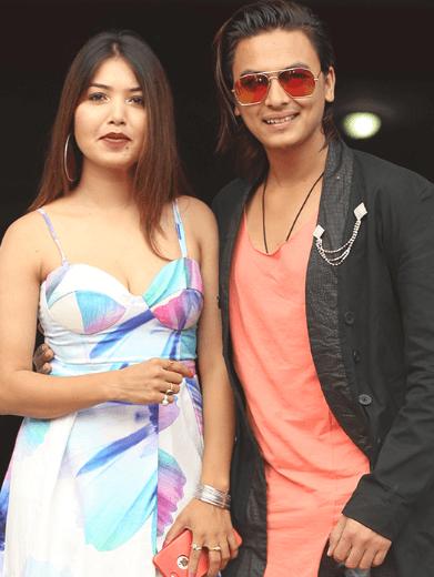 Paul Shah and Pooja Sharma