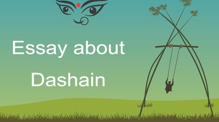 essay on Dashain