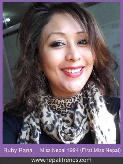 Ruby Rana Miss Nepal 1994