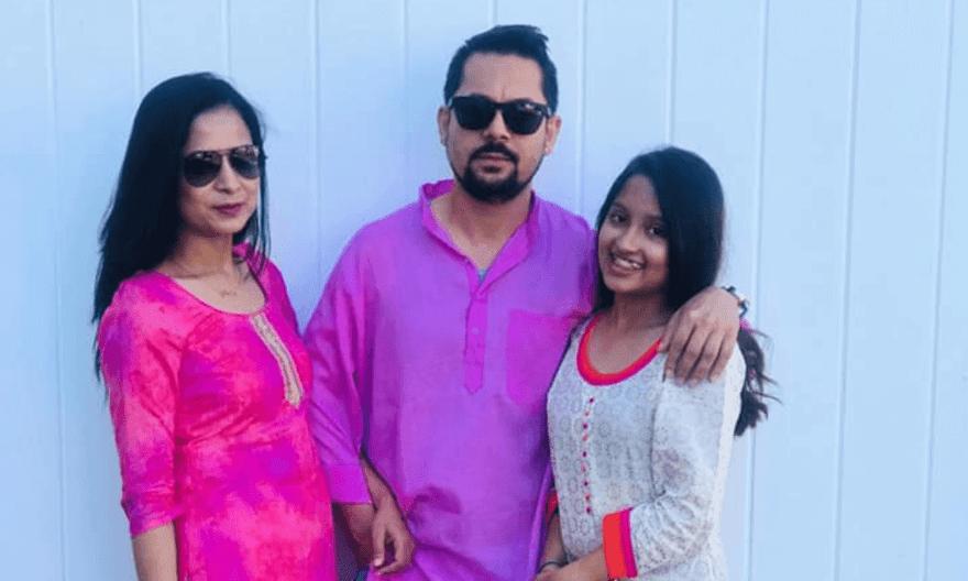 Ram Krishna Dhakal Family