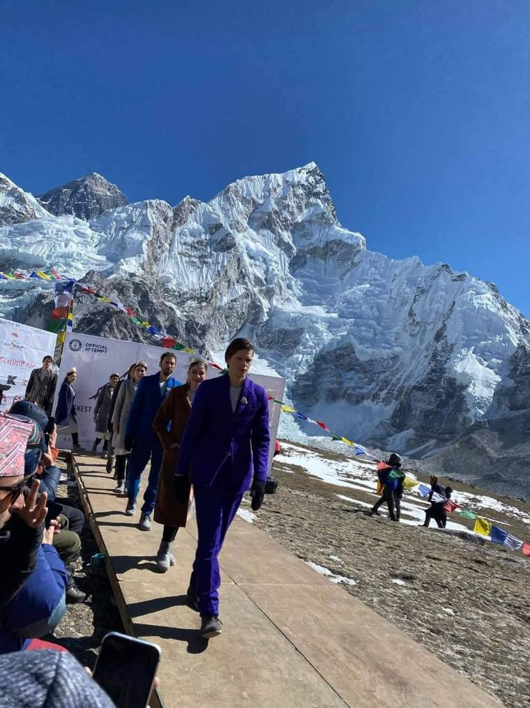 The Mount Everest Fashion Runway3