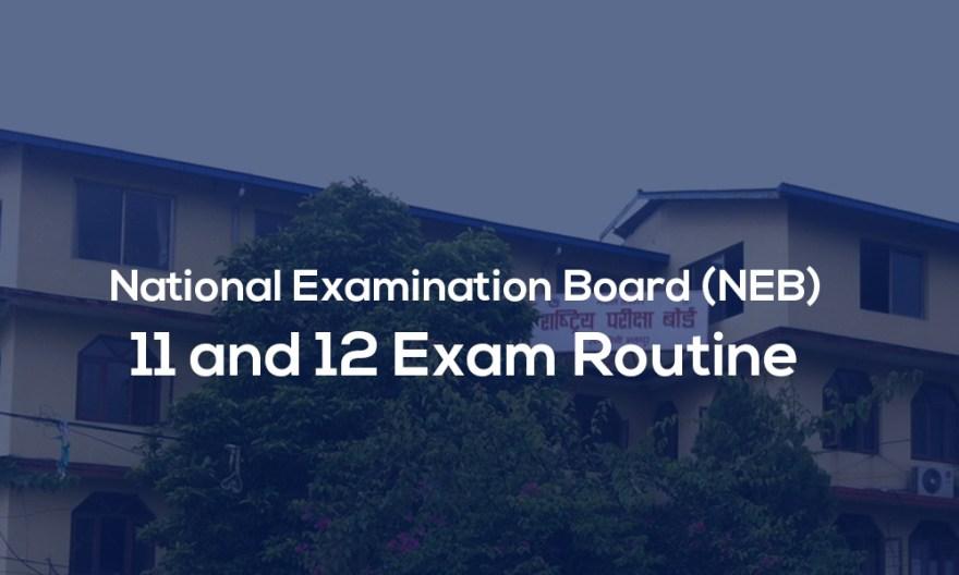 national examination board nepal