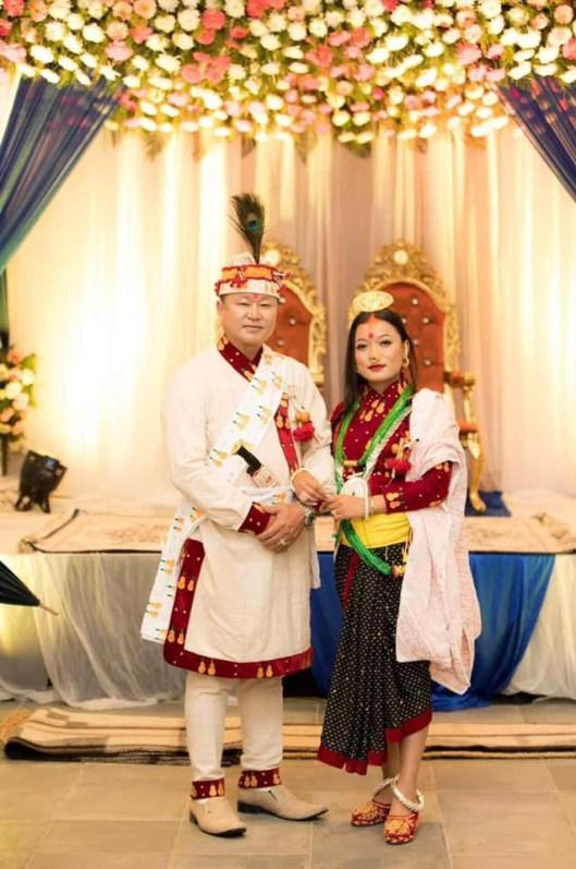 Sherdhan Rai and Jangmu Sherpa Wedding