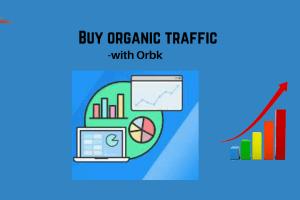 Buy organic traffic with Orbk