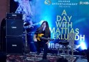 A Day with Mattias IA Eklundh tone music store