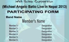 Battle of Band Form Download - Nepal Underground