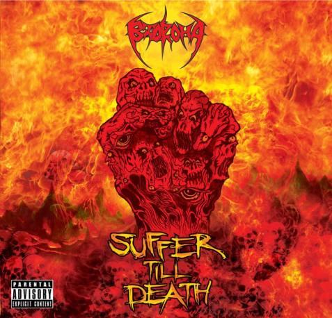 bidroha suffer till death album art