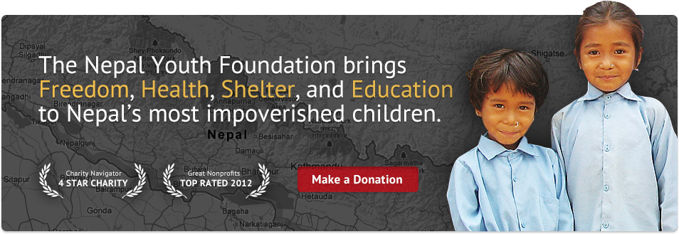 About us - Nepal Youth Foundation, a Non-Profit Providing Charity in Nepal