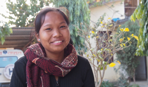 Renu was a student in NYF's Vocational Education and Career Counseling Program