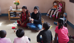 Group play therapy at Ankur Counseling Center