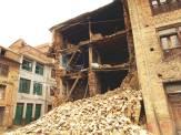 Fallen Building
