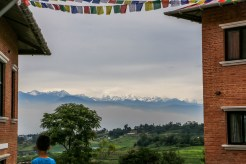 View from OLGAPURI Village on clear day